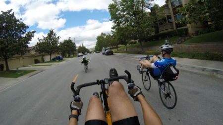 Taking The Recumbent Exercise Bike Experience Outdoors