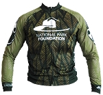 National Park Foundation Long Sleeve Recumbent Jersey