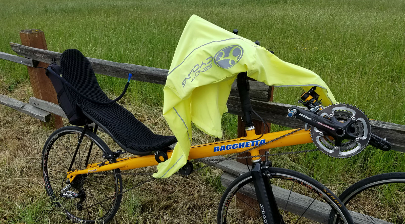 Recumbent Ride Rest Long Sleeves