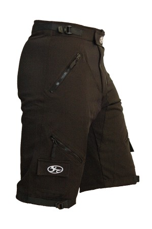 Expedition Recumbent Shorts Black 2.0