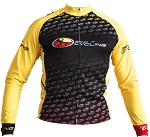 Bend It Cycling Throwback Long Sleeve Jersey