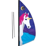 Feather Banner - Unicorn