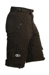 Bend it Cycling Expedition Recumbent Outdoor Cycling Shorts 2.0, Black