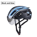 MagnaShield 2.0 Bicycle Helmet - Black and Blue