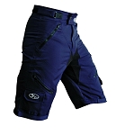 Bend it Cycling Expedition Recumbent Outdoor Cycling Shorts 2.0, Navy
