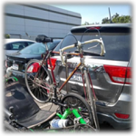 Easy Load Single Upright Bicycle Rack