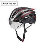 MagnaShield 2.0 Bicycle Helmet - Black and Red