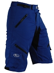 Bend it Cycling Expedition Recumbent Outdoor Cycling Shorts 2.0, Royal Blue 2.0