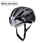 MagnaShield 2.0 Bicycle Helmet - Black and Silver