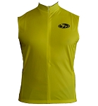Speed Yellow Sleeveless Jersey