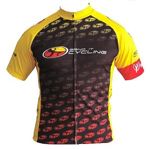 Bend It Cycling Throwback Jersey